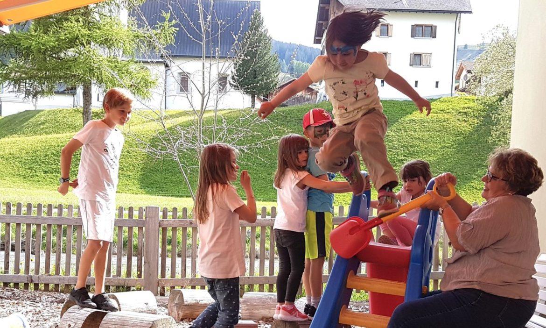 Frühlingsfest in der Canorta Tgimirola
